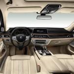 BMW 7-Series 2016 интерьер / interior