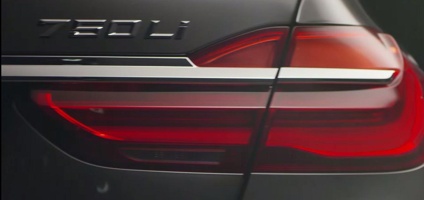 BMW 7-Series 2016 тизер видео