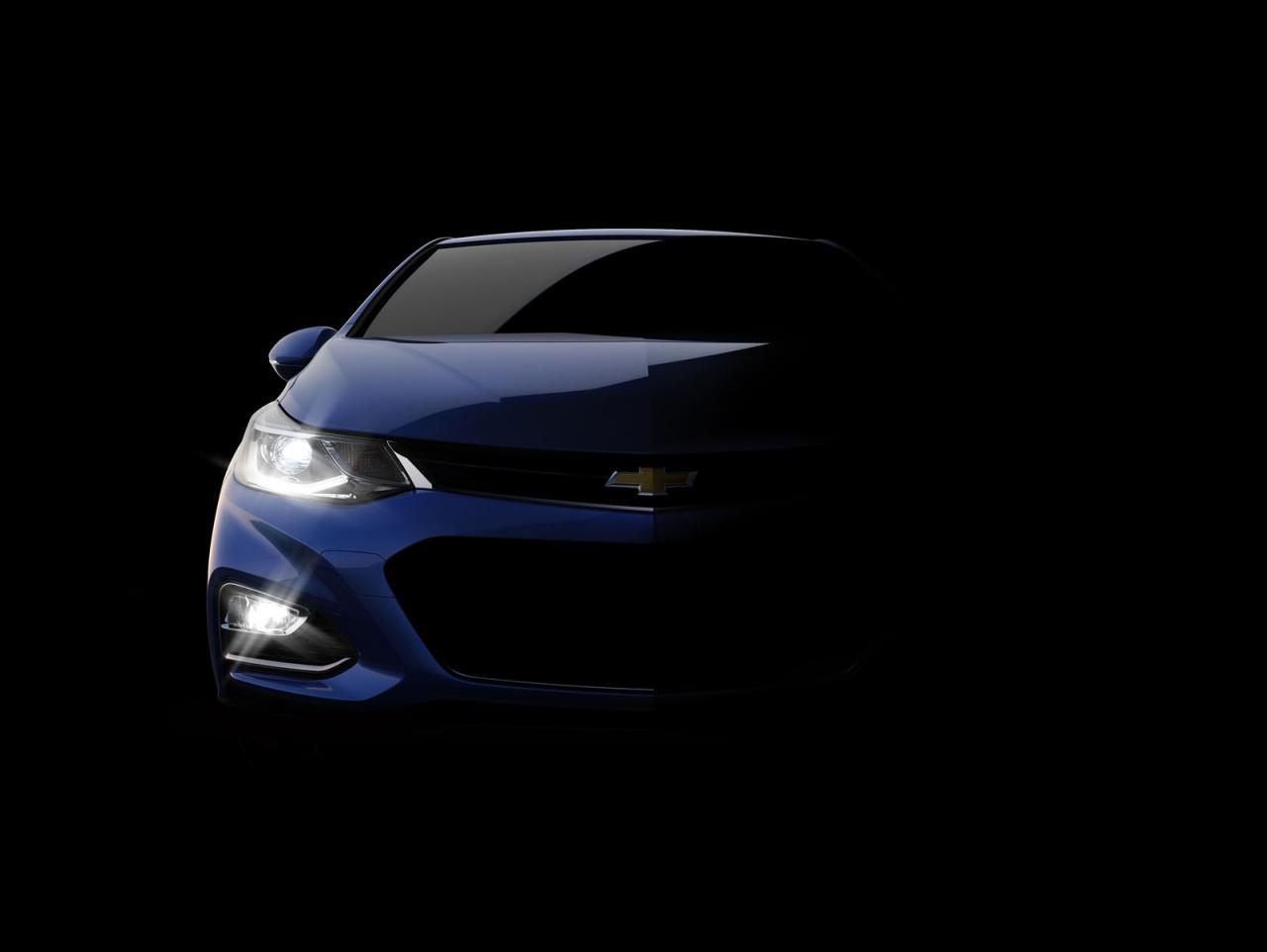 Chevrolet Cruze 2016 teaser/тизер