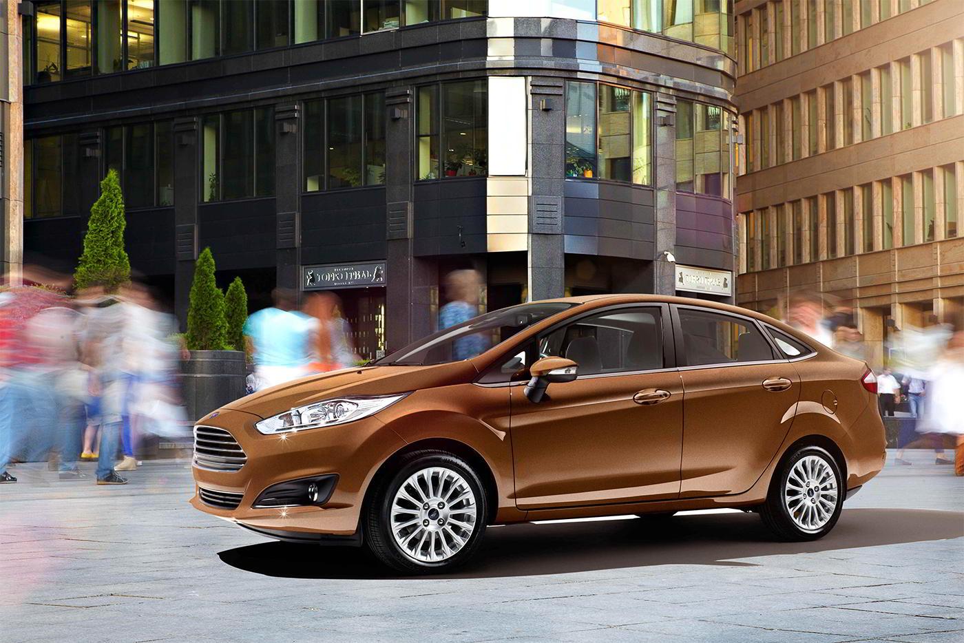 Форд Fiesta обновленного поколения покажут кконцу года