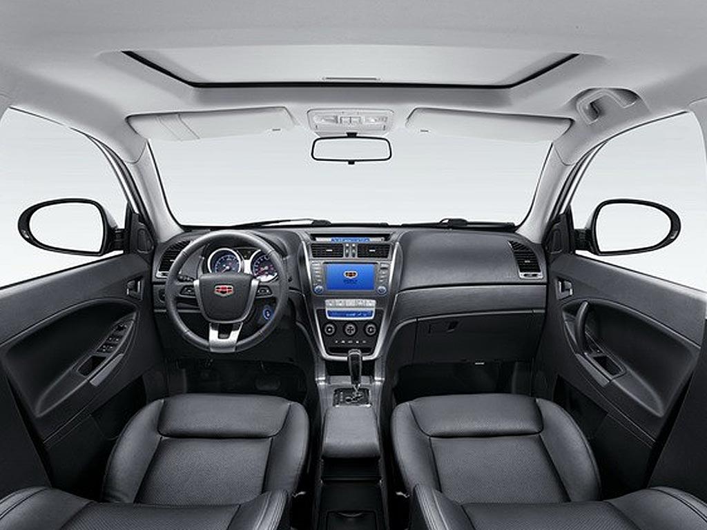 Geely Emgrand X7 2015 interior / интерьер