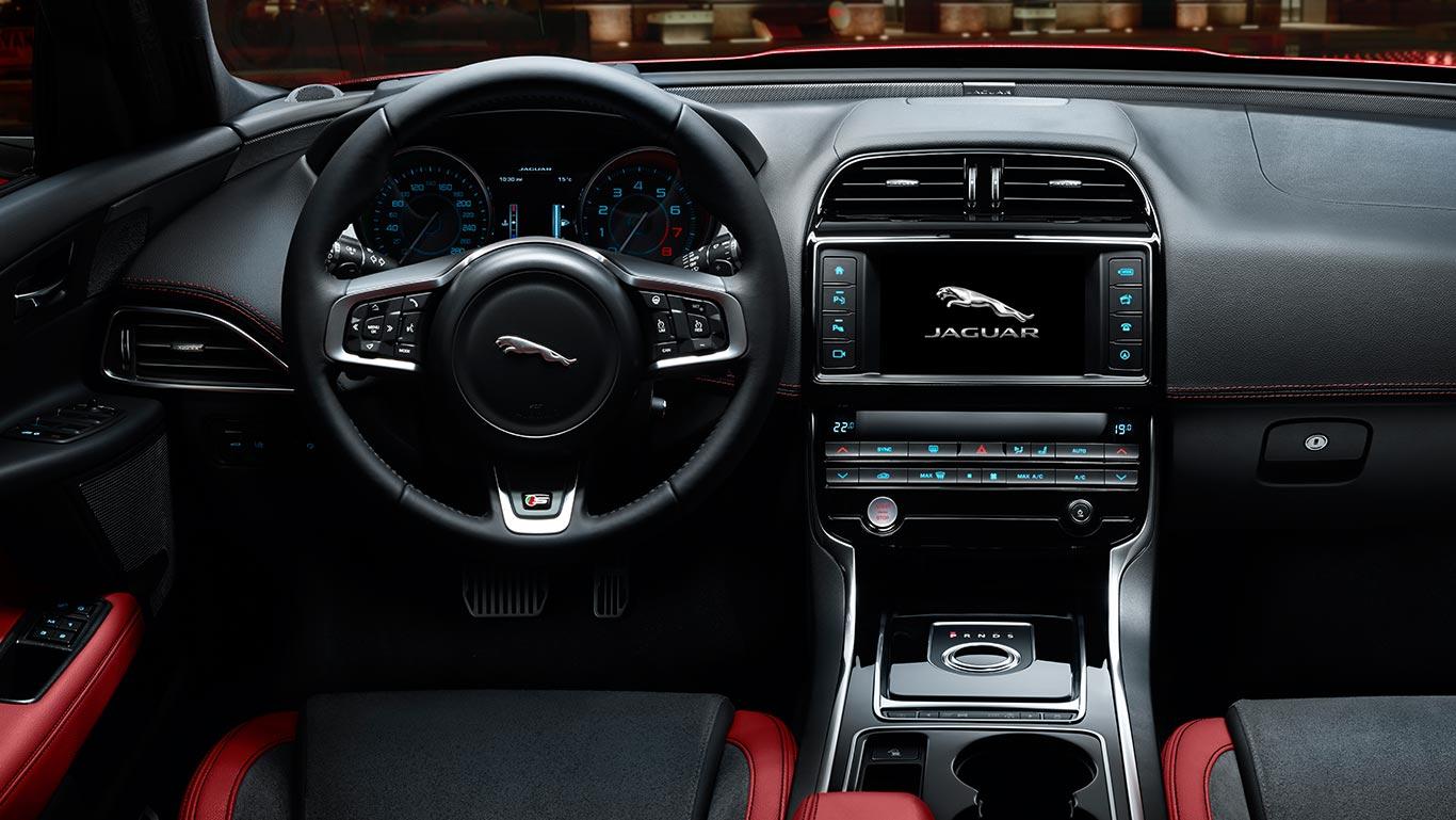 Jaguar XE 2015 interior/интерьер