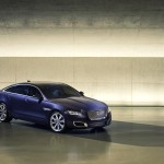 Jaguar XJ 2016 Autobiography front-side view/спереди сбоку
