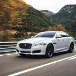 Jaguar XJ 2016 R-Sport front-side view/спереди сбоку