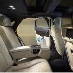 Jaguar XJ 2016 interior rear seats / интерьер задние сидения