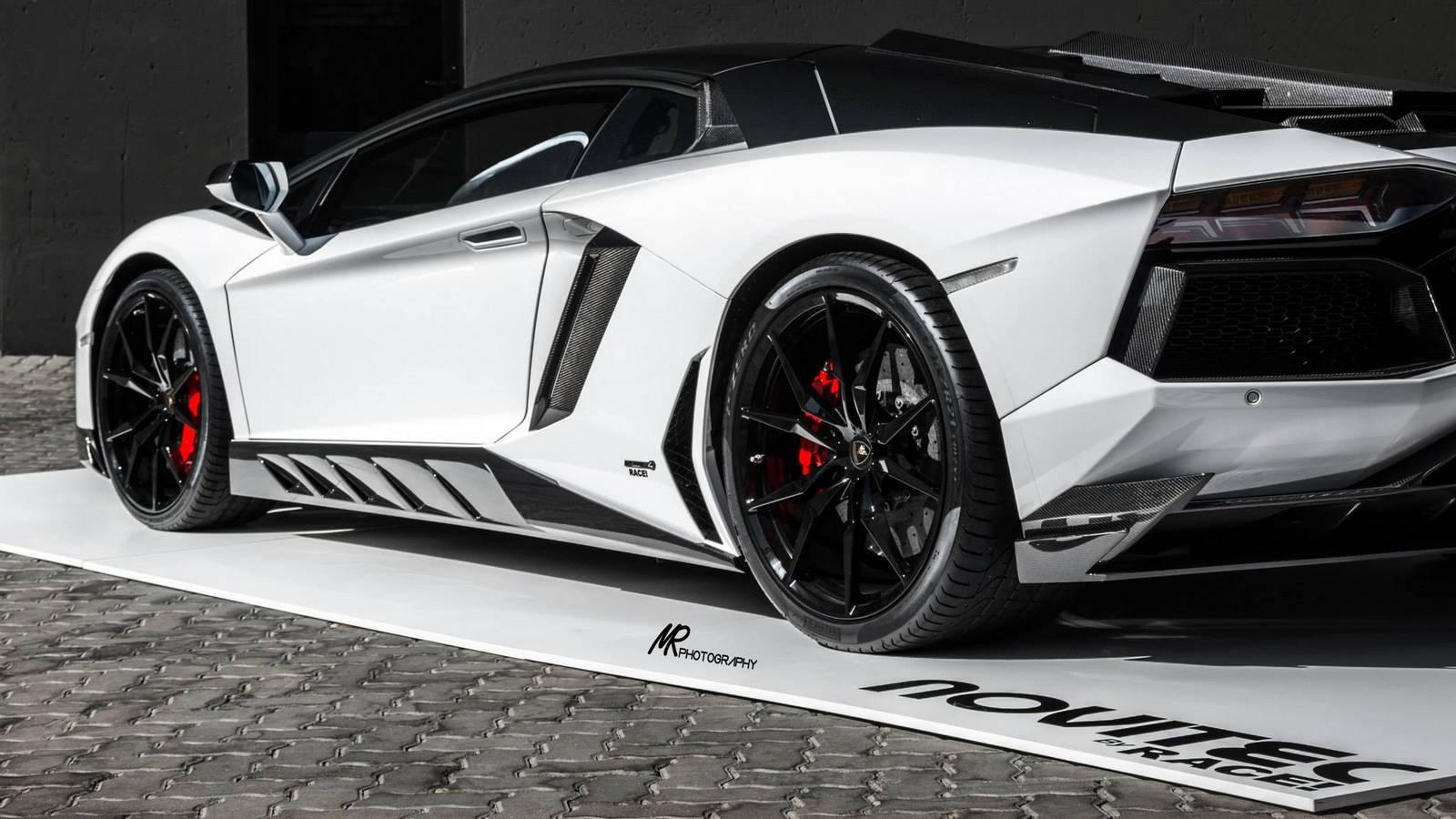 Lamborghini Aventador tuning/тюнинг Novitec Torado