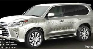 Lexus LX facelifted leaked photo / обновленный фото утечка
