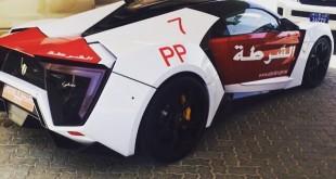 Lykan Hypersport Abu-Dhabi police car/ полицейский автомобиль Абу-Даби
