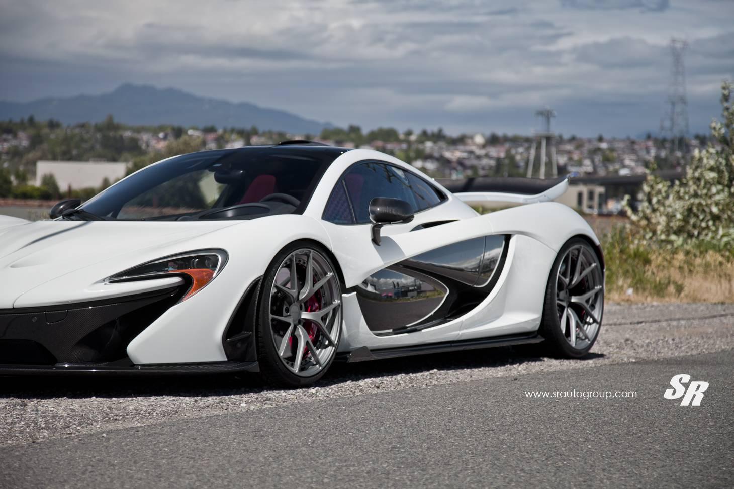 McLaren P1 tuning wheel/тюнинг колес PUR Wheels