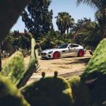 Mercedes-AMG GT S на красных тюнинг-колесах Forgiato Wheels