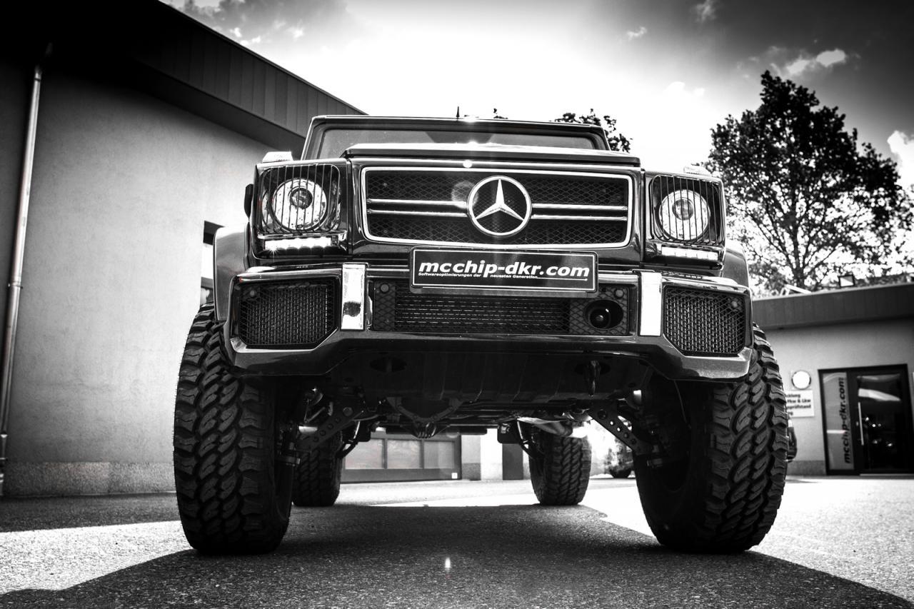 Mercedes-Benz G63 AMG tuning/тюнинг mcchip-dkr