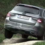 Mercedes-Benz GLC video teaser screenshot / скриншот видео-тизер
