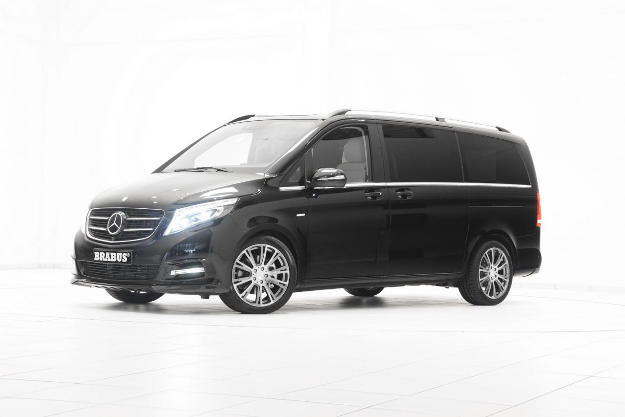 Mercedes-Benz V-Class tuning/тюнинг Brabus