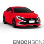 Mitsubishi Lancer новое поколение рендер-фото / next-gen render