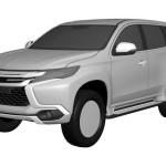 Mitsubishi Pajero Sport 2016 patent image / патентное изображение Montero Sport/Challenger