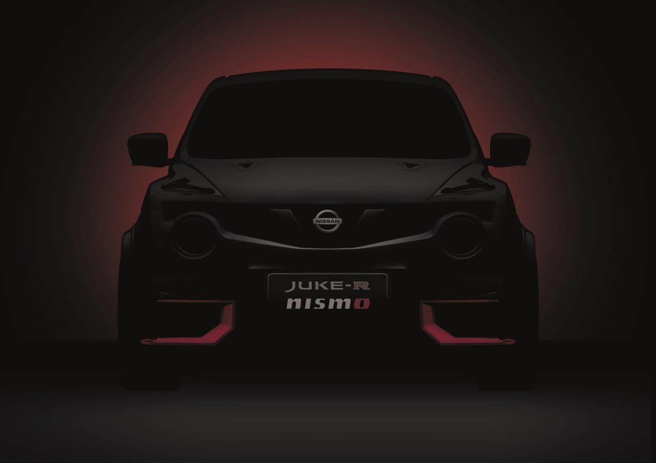 Nissan Juke-R NISMO тизер|teaser