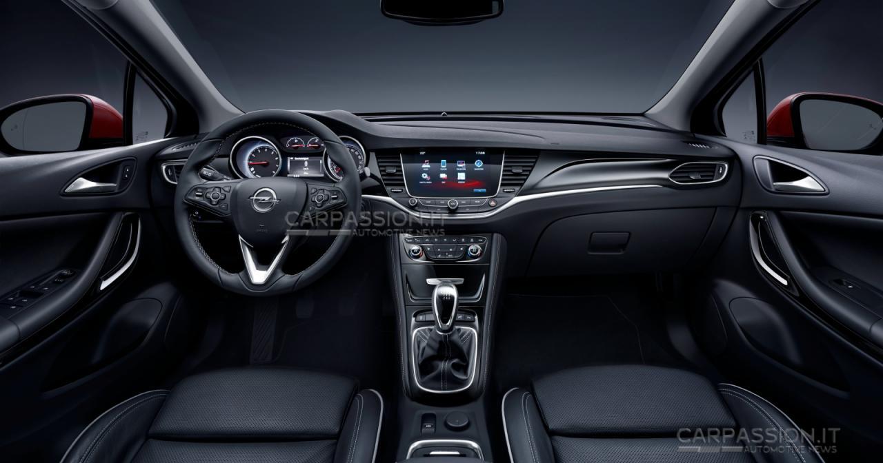 Opel Astra 2016 официальные фото (утечка)