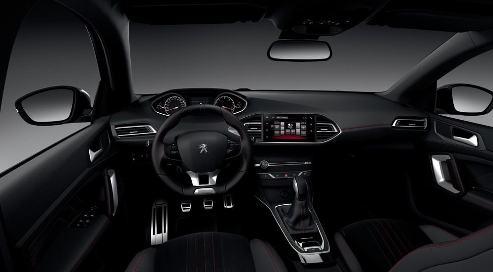 Peugeot 308 GT Line interior/интерьер