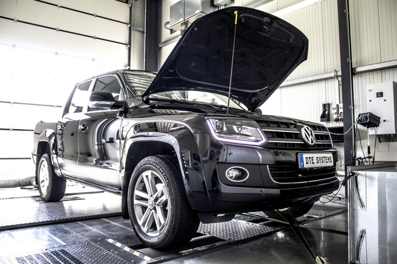 Volkswagen Amarok chip-tuning DTE Systems