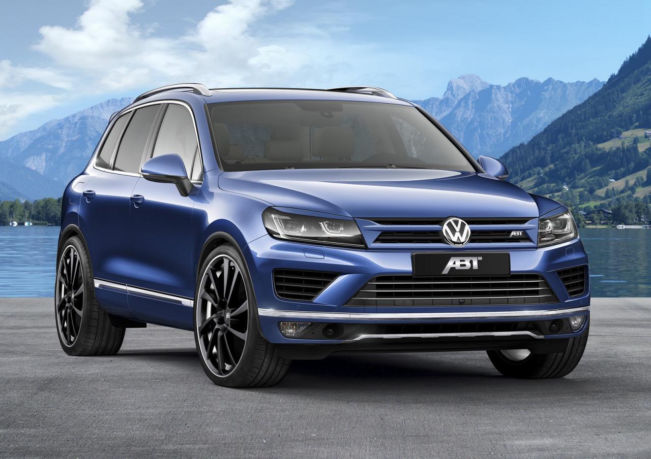 Volkswagen Touareg 3.0 TDI tuning/тюнинг ABT Sportsline