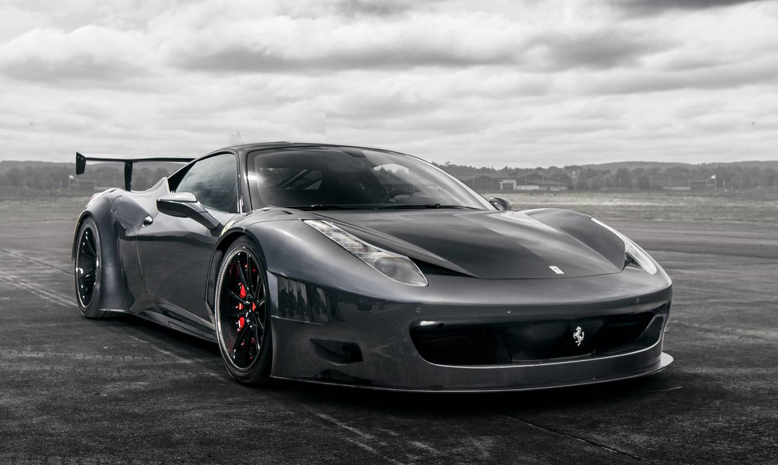 VAD Ferrari 458 Curseive GT3 тюнинг Vogue Auto Design и Gray Design