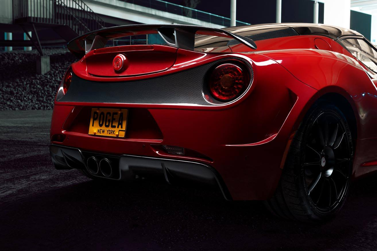 Alfa Romeo 4C Centurion tuning / тюнинг Pogea Racing