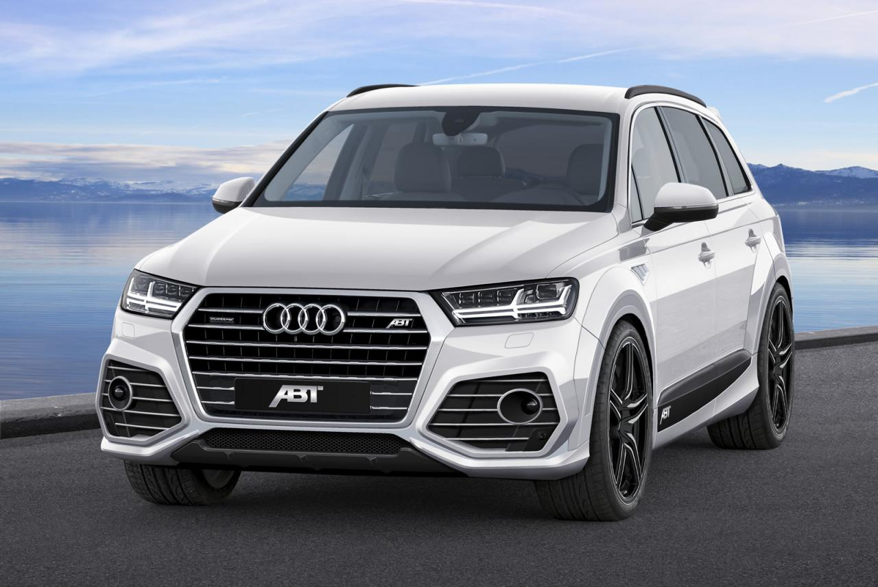 Audi Q7 2015 tuning / тюнинг ABT Sportsline