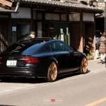 Audi RS7 Sportback на тюнинг-колесах Vossen Wheels