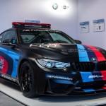 BMW M4 MotoGP Safety Car water injection system / система впрыска воды