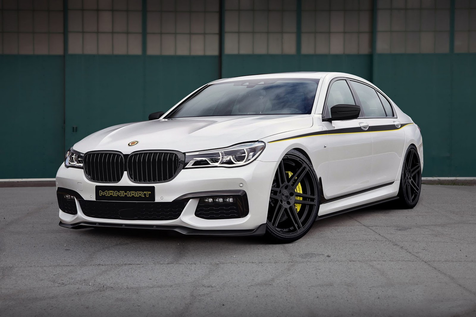 BMW 7-Series 2016 MH7 700 tuning / тюнинг Manhart