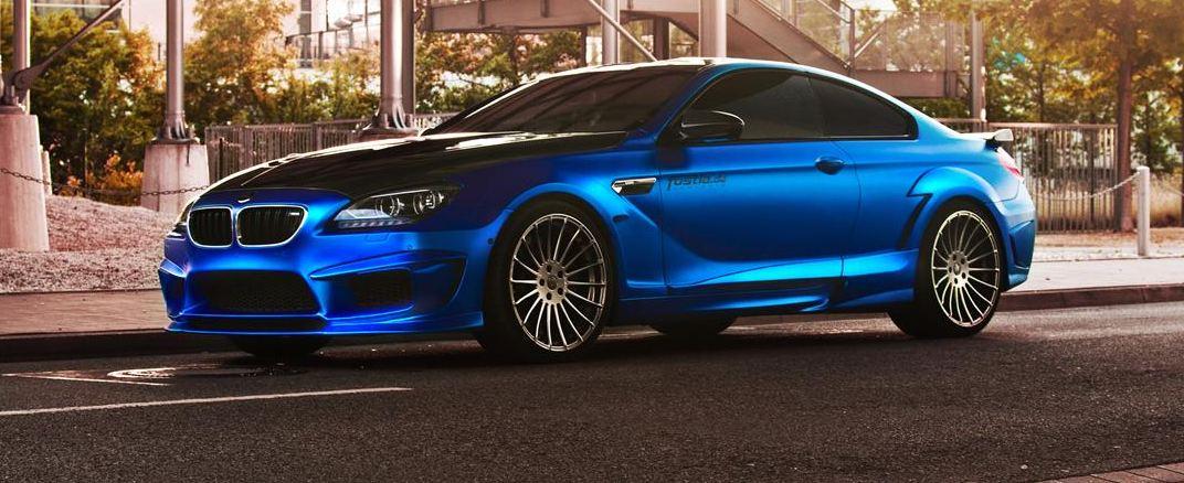 BMW M6 Coupe tuning / тюнинг Hamann и Fostla