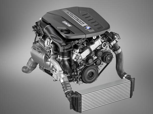6-цилиндровый дизельный мотор BMW TwinPower Turbo объемом 3,0 литра