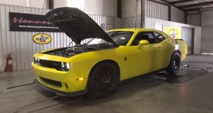 Dodge Challenger SRT Hellcat HPE800 tuning / тюнинг Hennessey Performance