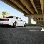 Тюнинг Liberty Walk Dodge Challenger SRT Hellcat на колесах PUR