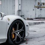 Ferrari 458 Italia Spider wheels tuning / тюнинг колес Vellano