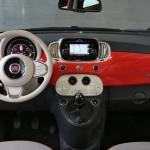 Fiat 500 2015 официальное фото интерьера