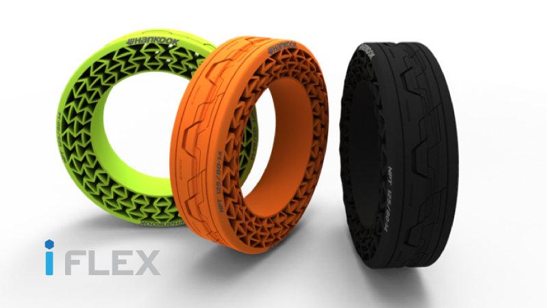 Hankook iFlex безвоздушные шины