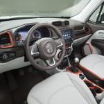 Jeep Renegade интерьер