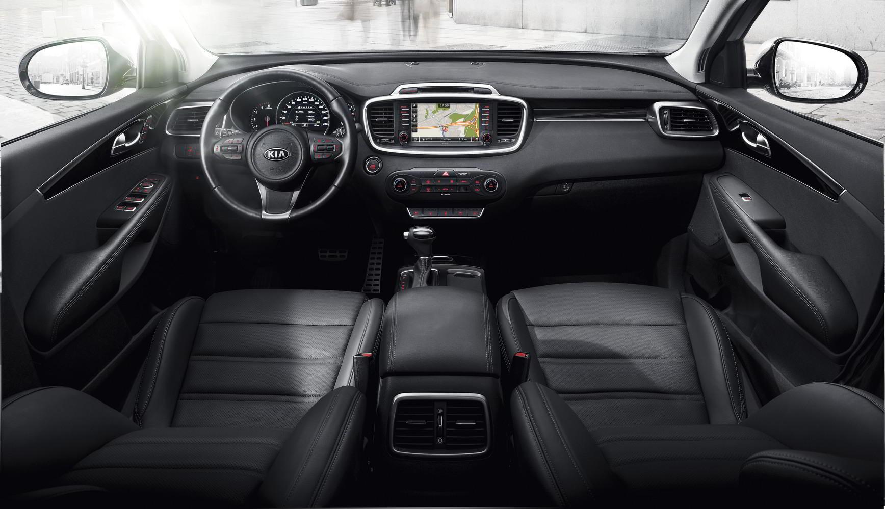 Kia Sorento Prime 2015 официальное фото интерьера