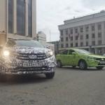 Lada XRAY и Lada Vesta в Казани
