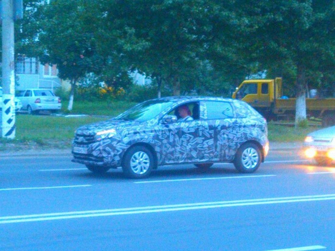 Lada XRAY шпионское фото