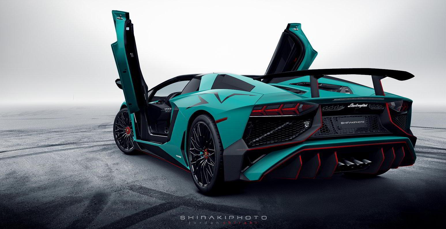 Lamborghini Aventador LP 750-4 SuperVeloce Roadster 2017