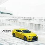 Lexus RC F на тюнинг-колесах Velgen Wheels