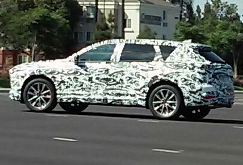 Mazda CX-9 2016 шпионское фото