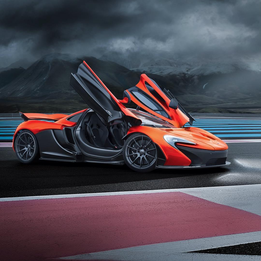 McLaren P1 MSO (McLaren Special Operations)