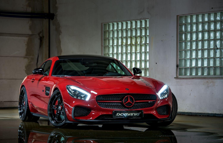 Mercedes-AMG GT S tuning / тюнинг DOMANIG