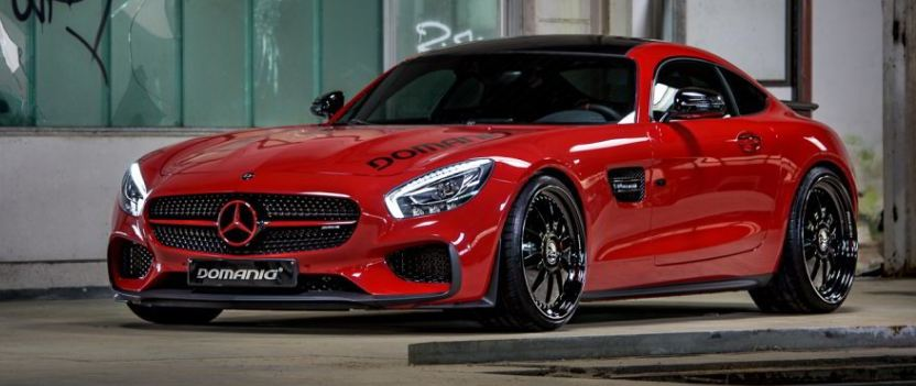 Mercedes-AMG GT S tuning / тюнинг DOMANIG