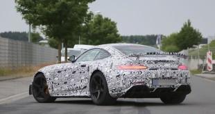 Mercedes-AMG GT3 дорожная версия шпионское фото