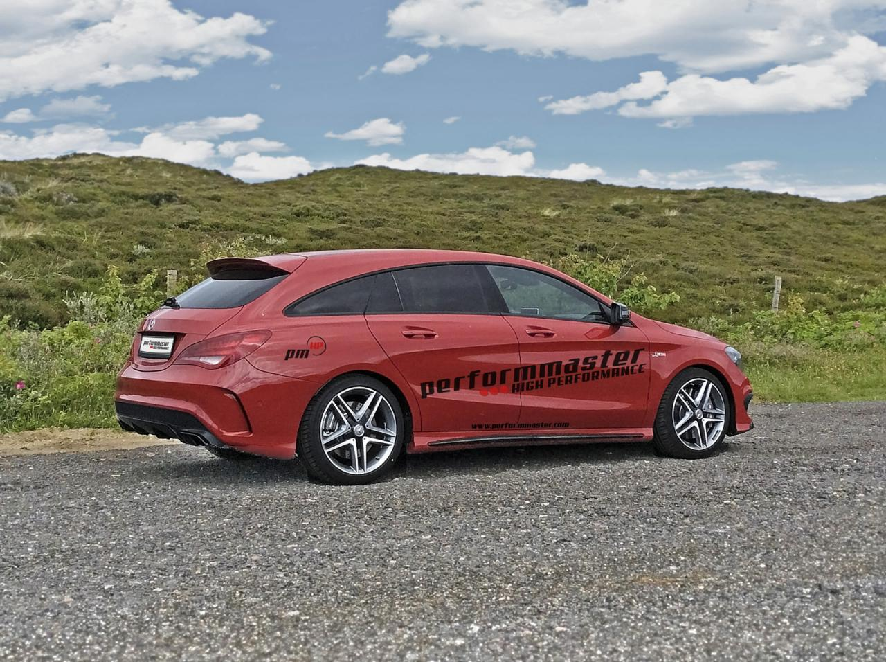 Mercedes-Benz CLA 45 AMG Shooting Brake tuning / тюнинг performmaster