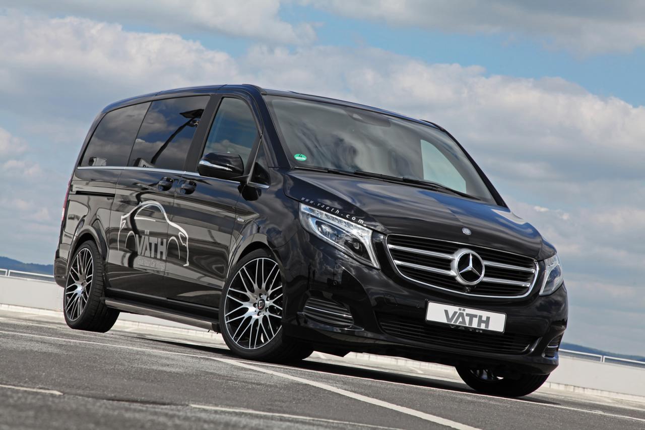 Mercedes-Benz V-Class tuning / тюнинг VATH (V250 CDI)